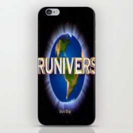 Bruniverse iPhone Skin
