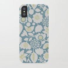 Flower Garden Slim Case iPhone X
