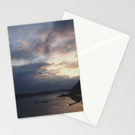 Peaking Through the Clouds Stationery Cards