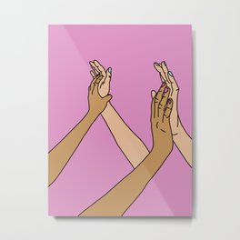 We're In This Together. Metal Print
