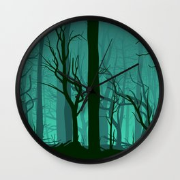forest dead Wall Clock