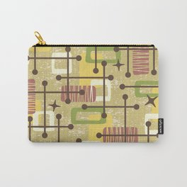 Mid Century Modern Abstract Pattern 834 Carry-All Pouch
