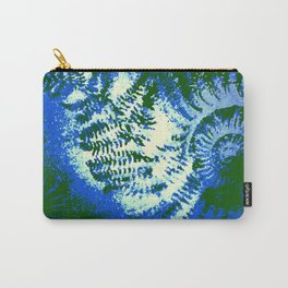 Ammonite Fossil Jungle Carry-All Pouch