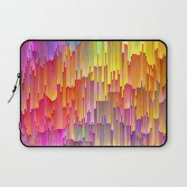 Vibrant Rainbow Cascade Design Laptop Sleeve
