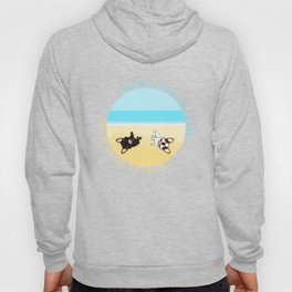 Frenchies Rolling In The Sand Hoody
