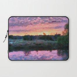 Monet Inspired Sunrise Laptop Sleeve