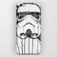 storm trooper iPhone & iPod Skins featuring storm trooper by ErDavid