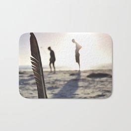 Feather on the Beach Bath Mat
