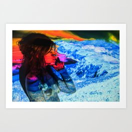 Untitled: Projection Series #18 Art Print