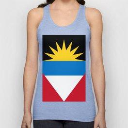 Antigua And Barbuda Flag Unisex Tank Top