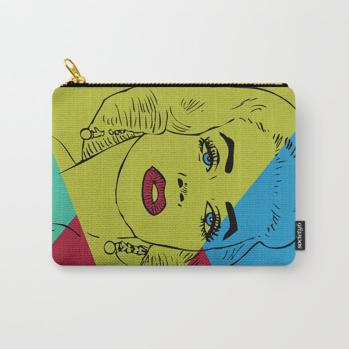 Abstract #400 Carry-All Pouch