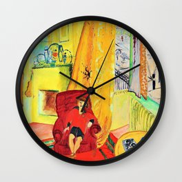 Ivan in the armchair - Digital Remastered Edition Wall Clock