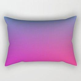 WIZARDS CURSE - Minimal Plain Soft Mood Color Blend Prints Rectangular Pillow