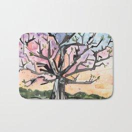 Spring Tree Bath Mat