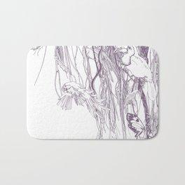 Amazone purple Bath Mat