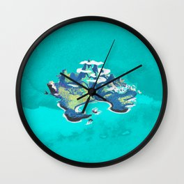 Disney's Peter Pan Neverland Wall Clock
