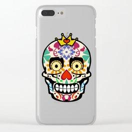 Happy calaveras Clear iPhone Case
