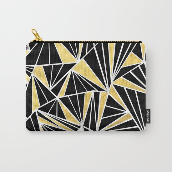 Ab Fan Zoom Gold Carry-All Pouch