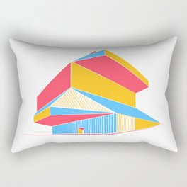 Rem Koolhaas - Seattle Central Library Rectangular Pillow