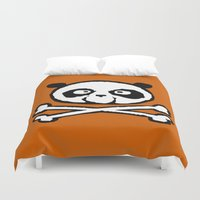 logo Duvet Covers featuring Logo by Bouletcorp