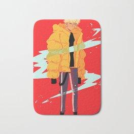 Bakugou winter coat Bath Mat