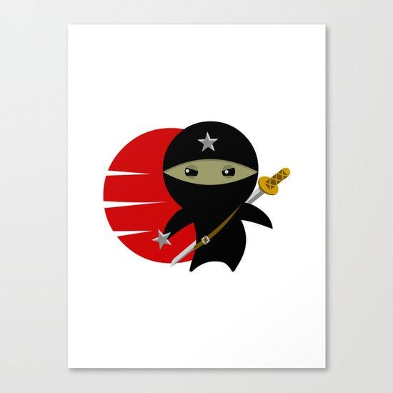 NINJA STAR Canvas Print