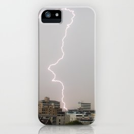 Bangkok Lightning #1 iPhone Case
