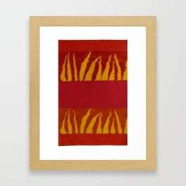 Prairie Fire Framed Art Print