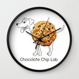 Dog Treats - Chocolate Chip Lab Wall Clock