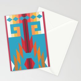 American Native Pattern No. 151 Stationery Cards