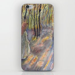 Princess in the Autumn Woods iPhone Skin