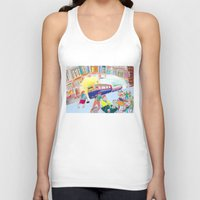 lemon Tank Tops featuring Lemon by ARTION