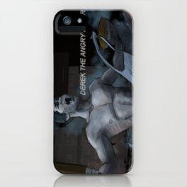 Derek the angry baker - Teen Wolf iPhone Case