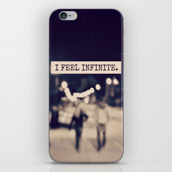 I Feel Infinite iPhone & iPod Skin