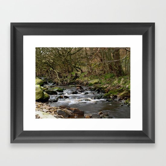 The River Washburn Framed Art Print