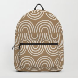 Magic Jungle Pattern Rainbow Backpack