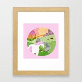 Unicornland Framed Art Print