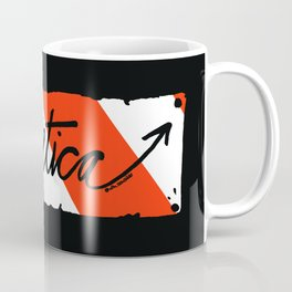 Helvetica Street Cred Coffee Mug