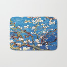 Van Gogh Branches of an Almond Tree in Blossom Bath Mat