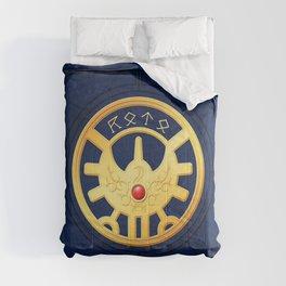 Erdrick's Seal (Horizontal) Comforters