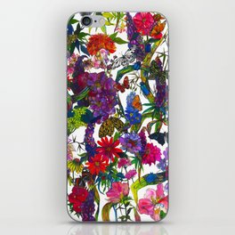 Botanical Butterflies iPhone Skin