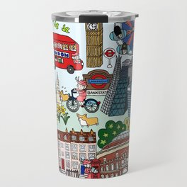 The Queen's London Day Out Travel Mug