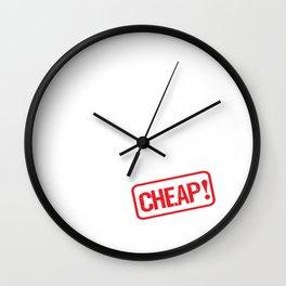 Boyfriend for Rent Funny Relationship T-Shirt Wall Clock