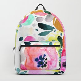 Wake Up Floral Backpack