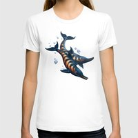 rogue T-shirts featuring Rogue Dolphins by Alexa Shamshoian