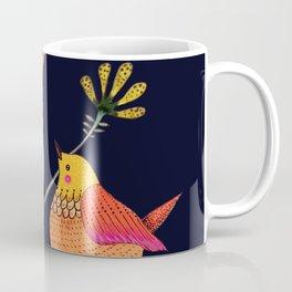 la vie est belle (navy) Coffee Mug