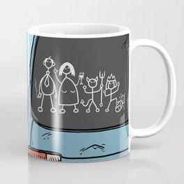 Honest Stick Figure Family Coffee Mug
