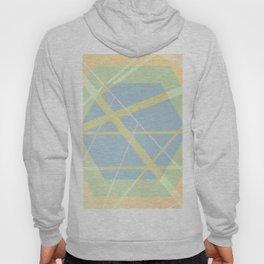 Crossroads ll - color hexagon Hoody