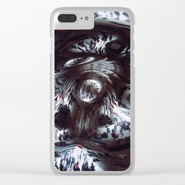 Under The Bean Clear iPhone Case