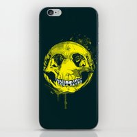 be happy iPhone & iPod Skins featuring happy by Steven Toang